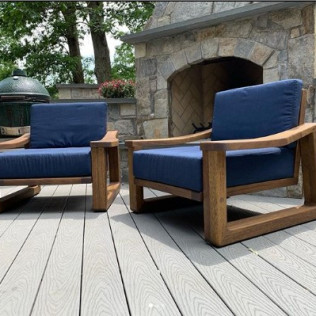Bourbon Wooden Chairs