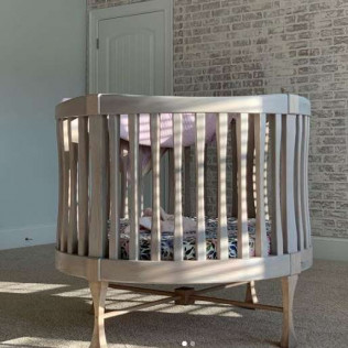 Custom Wooden Baby Crib